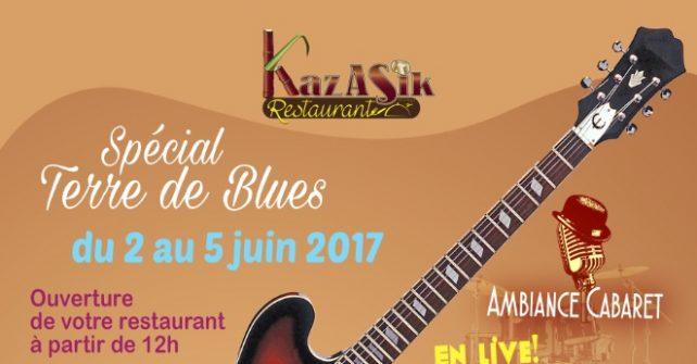 Le restaurant Kaz A Sik (Programme du festival Terre de Blues 2017)